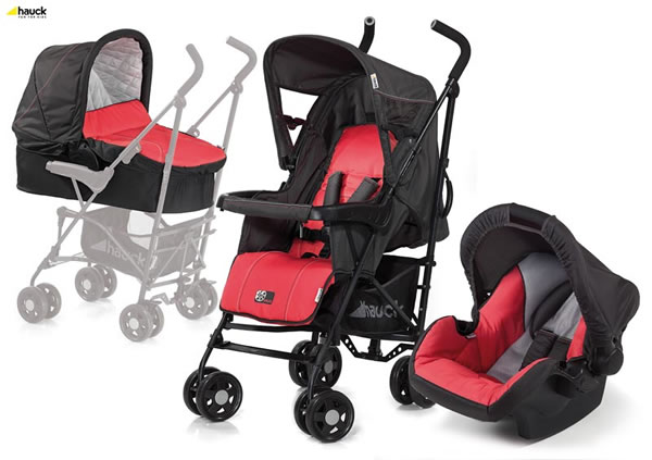 коляска Hauck Buggy Turbo Plus Trio Set
