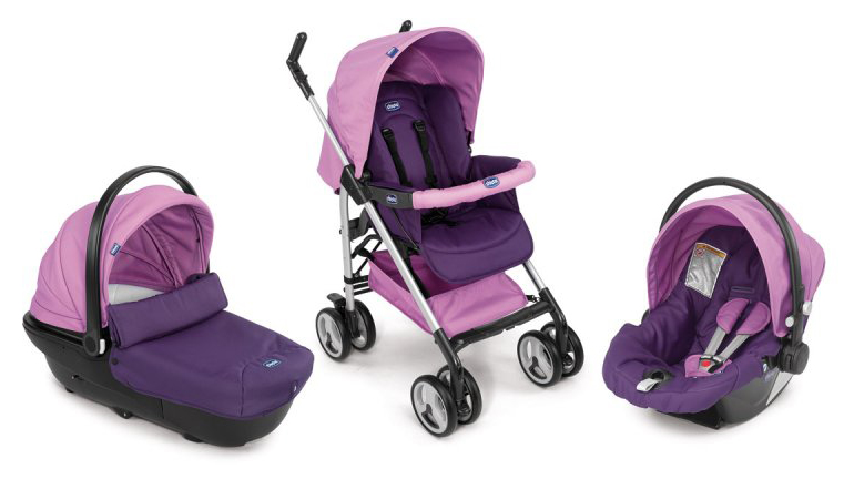 Обзор коляски Chicco Travel System Trio Sprint